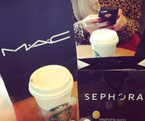 mac, sephora, and make up image