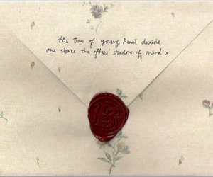 vintage, Letter, and love letter image