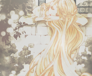 anime, rapunzel, and anime girl image