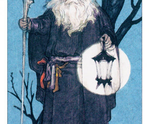 hermit, introspection, and tarot image