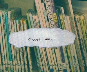 books, photo, and choose image