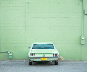 car, green, and oldtimer image