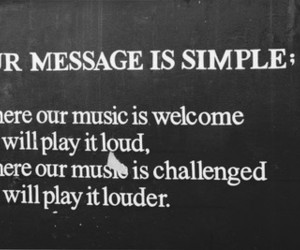 music, loud, and message image