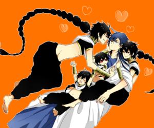 anime, magi, and judal image