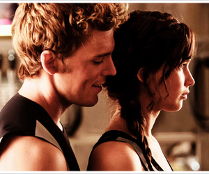 real, katniss, and finnick image
