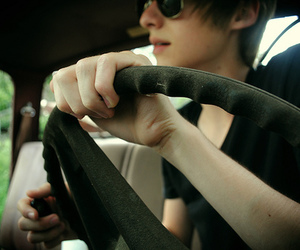 boy, photography, and car image
