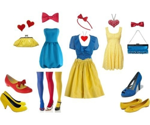blue, fashion, and snow white image