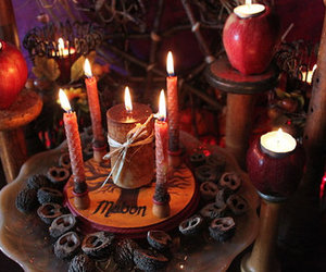 altar, witchcraft, and wiccan image