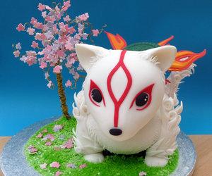 cake and okami image