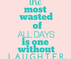 quote, laughter, and text image