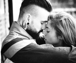 beard, boy, and couple image