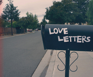 letters, mailbox, and cute image