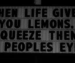 eyes, lemons, and life image