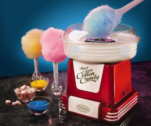 candy, cotton candy, and sweet image