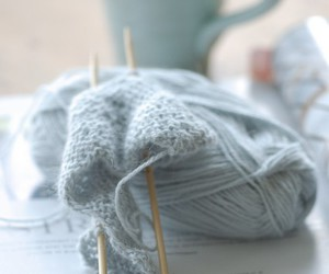 blue, wool, and cup image