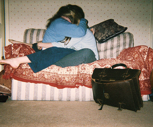 friends, couple, and lesbian image
