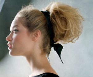 black, blonde, and girl image