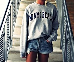 girl, fashion, and Miami image