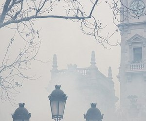 fog, london, and photography image