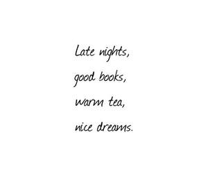 book, Dream, and tea image