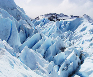 glacier, ice, and scenery image