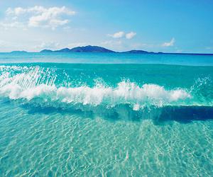 agua, beautiful, and blue image