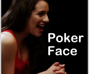 glee and pokerface image