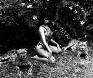 Bettie Page and Leo image
