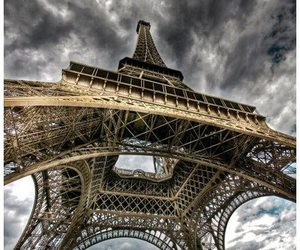 beauty, paris, and clouds image