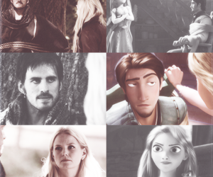 once upon a time and tangled image