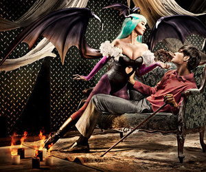 cosplay and morrigan image