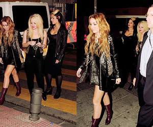 miley cyrus and friend$ image
