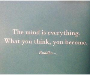 quote, Buddha, and mind image