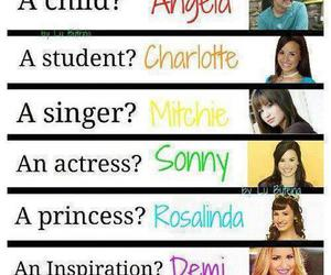 demi lovato and inspiration image