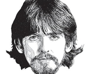 the beatles and george harrison image