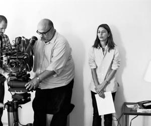 Sofia Coppola, black and white, and film image