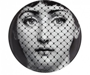 design, fornasetti, and plates image