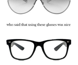 glasses, life, and phrases image