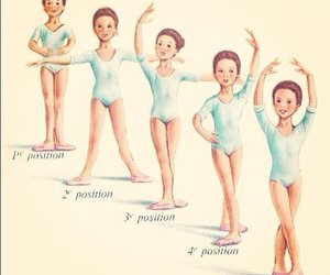 ballet, position, and dance image