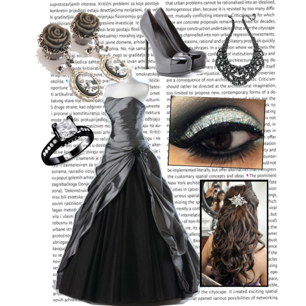 Polyvore Ball Gowns