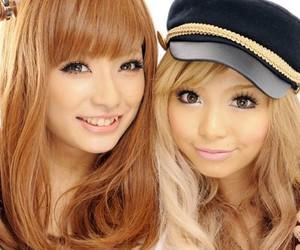 asian girls, cute, and beautiful eyes image