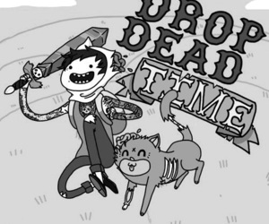drop dead, adventure time, and bring me the horizon image