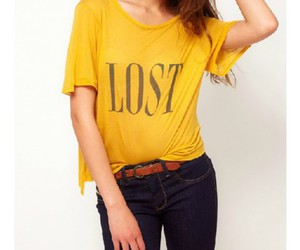 t-shirts, trendy top, and tops image