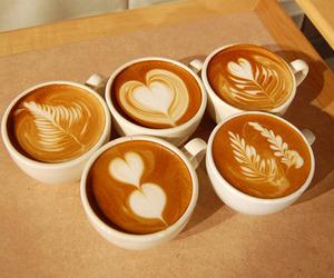coffee, art, and heart image