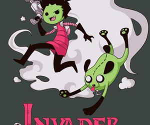 adventure time, finn, and Invader Zim image