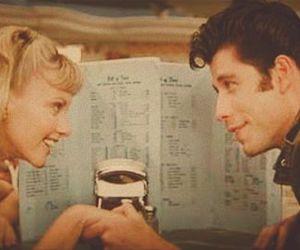 grease, John Travolta, and love image