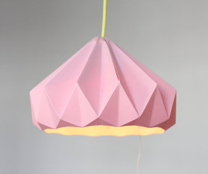 origami and pink image