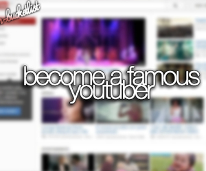 before i die, bucket list, and youtube image