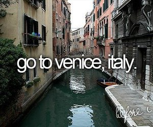 italy, venice, and before i die image