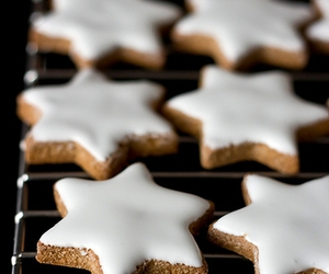 biscuits, stars, and christmas image